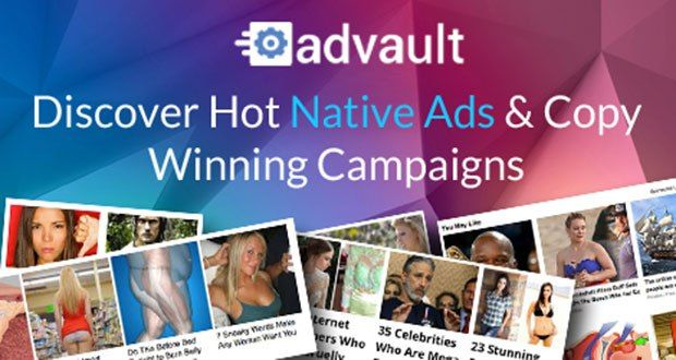 Advault Review – Hottest Native Ad Spy Tool Native ad is the hottest buzz in the industry. With advault review guide you can discover hottest native ads and copy winning campaigns within minutes. #Advault #NativeAds #SpyTool