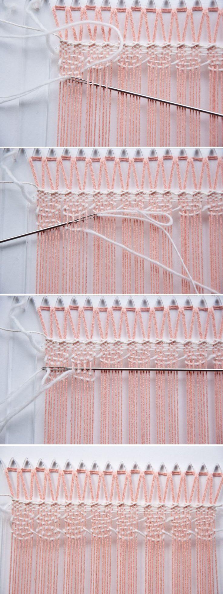 Weave Along || Part 2: Spanish Lace Weave