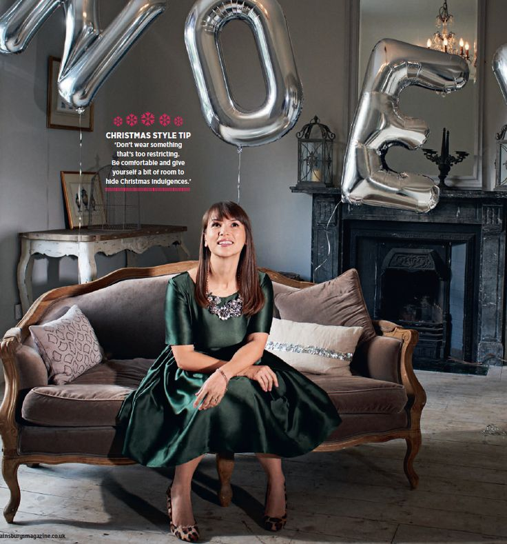I'm in this month's @sainsburysmag #Christmas special, talking about my favourite way to spend the festive period.