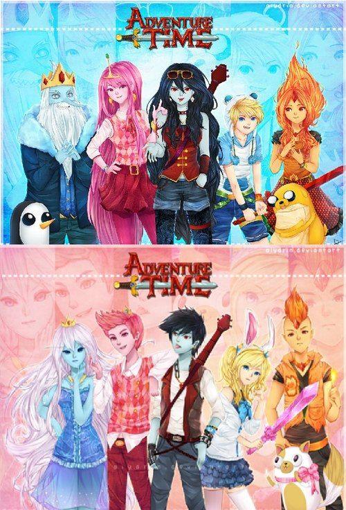 Adventure Time Gender Bend