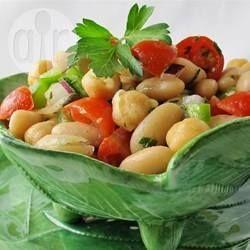 Chickpea and Kidney Bean Salad @ allrecipes.com.au
