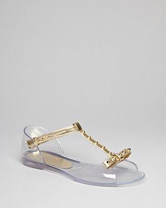 011e3ba957c0 Stuart Weitzman Jelly T Strap Open Toe Sandals - Nifty ...