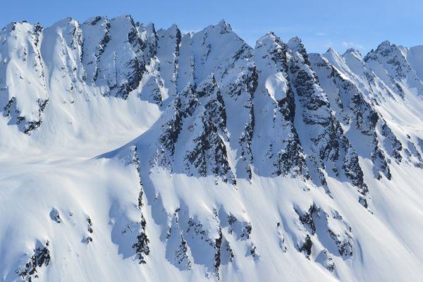 Alaskan Chugach Mountains