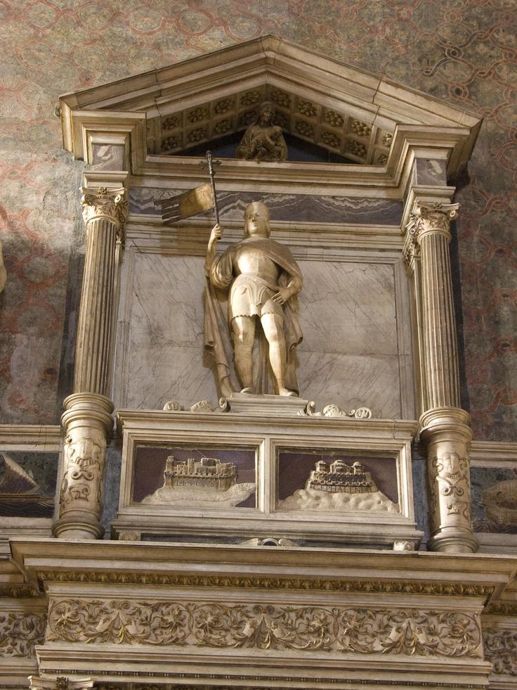 Basilica di Santa Maria Gloriosa dei  Frari - Venice, Italy - Benedetto Pesaro Monument