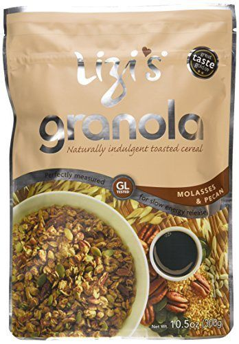 Lizi's Granola Lizi's Molasses and Pecans, 10.5-Ounce Bags (Pack of 6) - http://sleepychef.com/lizis-granola-lizis-molasses-and-pecans-10-5-ounce-bags-pack-of-6/
