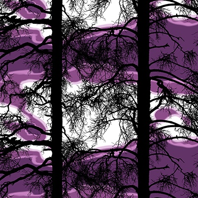 Kelohonka purple by Tanja Orsjoki - Vallila Interior '13