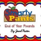 Smarty Pants is composed of 10 beautifully designed certificates that you can present your students at the end of the school year.  The certificate...