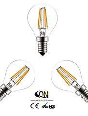 E14+LED+Glühlampen+G45+4+COB+400+lm+Warmes+Weiß+2800-3200K+K+AC+220-240+V+–+EUR+€+16.80