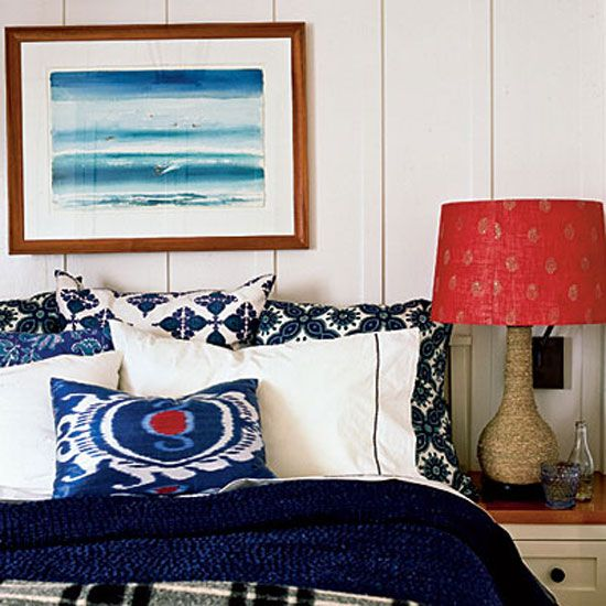 willow interiors/red, white and blue