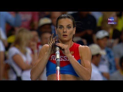 Moscow 2013 - Women's pole vault final - Final de salto con pértiga femenina - YouTube