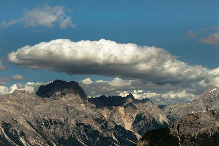 """Isanna Trovato, """"Un cappello di nuvole"""", #Panorama dal Rifugio Scoiattoli (#Dolomiti) #Veneto #escursionismo #hiking #escursione #escursioni #outdoor #natura Escursionismo.it"""