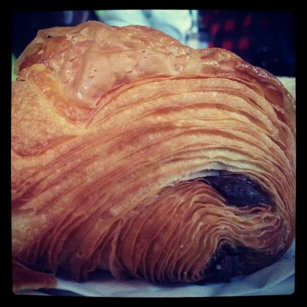 The best Pain au chocolat in town @ Beaucoup Bakery