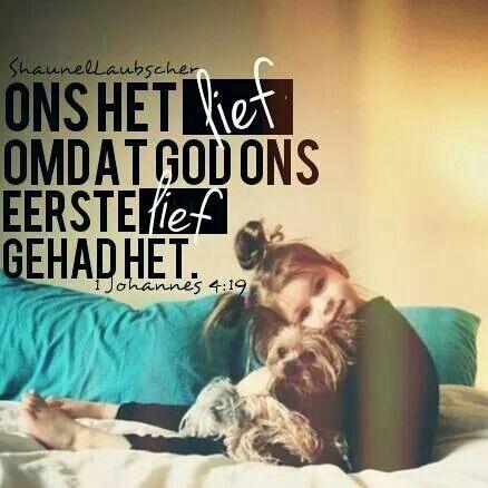 #god #kaalvoet #afrikaans #liefde