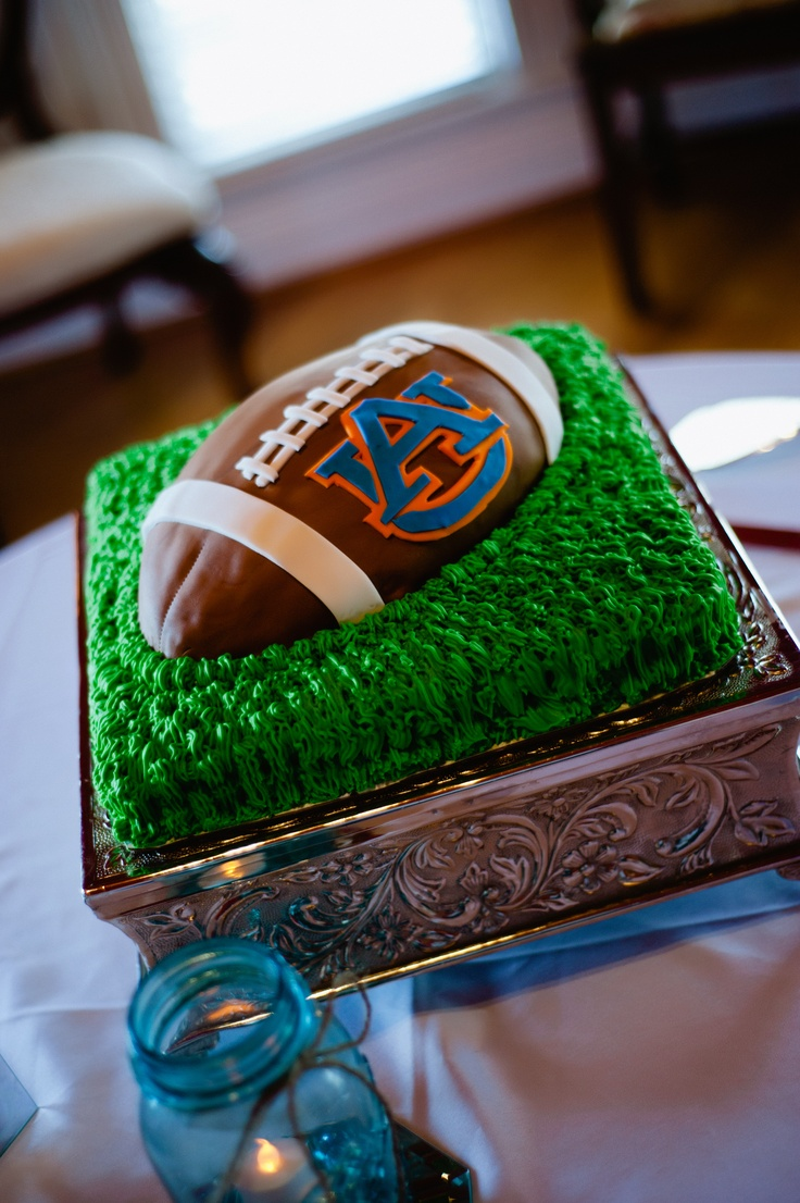 our auburn cake... made by debbie gordon