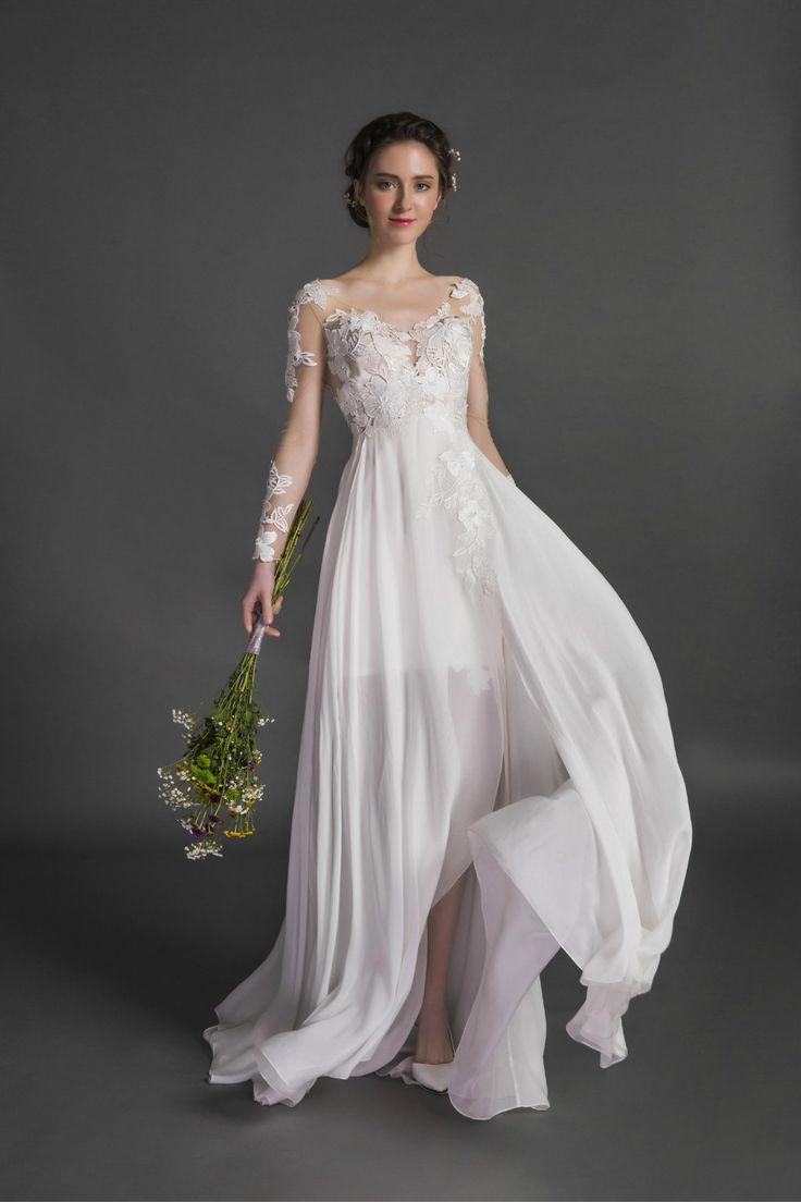 94 best WEDDING DRESSES images on Pinterest   Bridal boutique ...