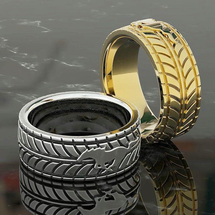 Mustang Wedding Ring... I Do !!!
