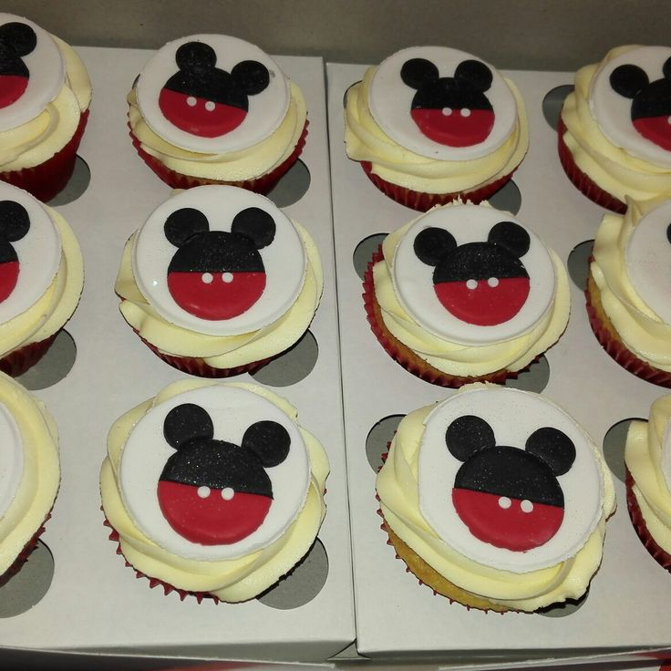 Mickey mouse Cupcakes 🐹