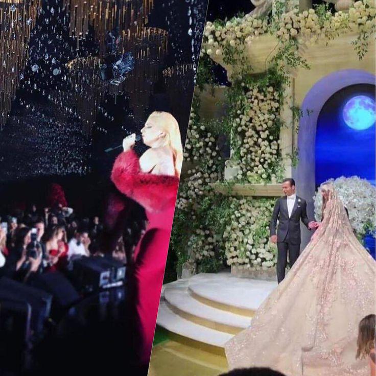 A Lady Gaga cantou muito num casamento milionário... e levou uma bolaaaaada pelo show! Tô passado com os detalhes dessa festa e com a performance da diva; vem ver, clicando no link na minha bio!