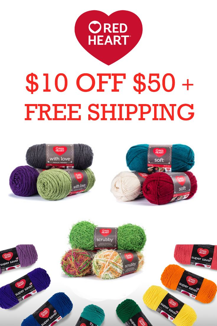 37 best red heart yarns coupons discounts images on pinterest save 10 off your 50 purchase free shipping w code 10rhoff50 http fandeluxe Gallery