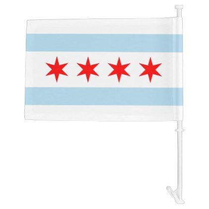 Flag of Chicago Illinois  $18.95  by CityFlags  - custom gift idea