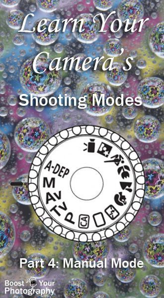 Shooting modes Part 4 : Manual Mode in Photography - go for it! | Boost Your Photography