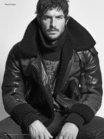Sight Model Justice Joslin in 'Shear Genius' for Robb Report | December 2016. Photos by Blair Getz Mezibov. Styled by Christopher Campbell. Grooming by Raid Azar.