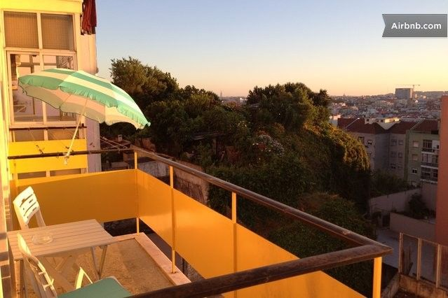 1BDR Central Lisbon w/ amazing view in Lisbon nice apt with view; 56/nt