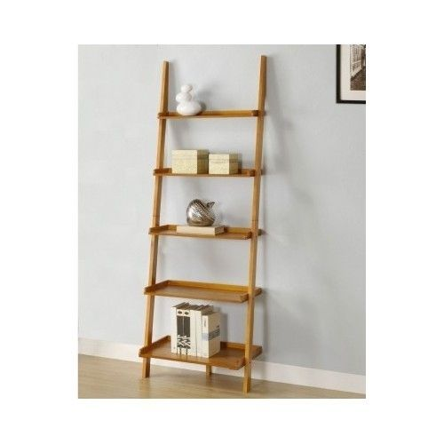 furniture ladder shelves. wonderful furniture wall book shelf leaning ladder bookcase oak wooden rack holder stand  furniture inside shelves