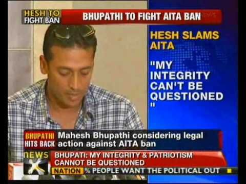 """Mahesh Bhupathi said, that he still does not have clear answers as to why they were banned. The tennis ace stated that he has always tried to extend his hand to Anil so that they could work together for tennis in India, but with no avail. Bhupathi said that Bopanna was upset about the whole issue and said """" Rohan wanted to be here today (at press conference). But he has 8-10 years of tennis ahead. So I wanted him to be out of this. These (AITA) people can be very vindictive."""