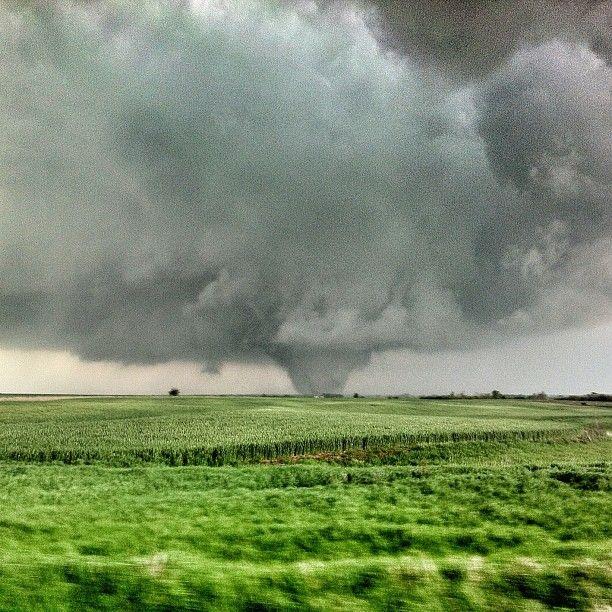 Tornado in Crawford, KS on April 14, 2012
