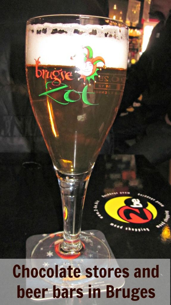 Chocolate stores and beer bars in #Bruges #Belgium #Europe #travel