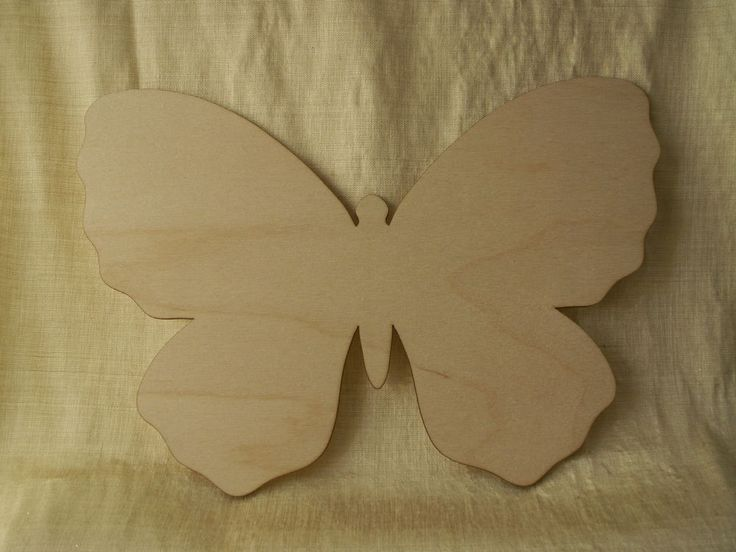 Details About Butterfly Unfinished Wood Shape Craft