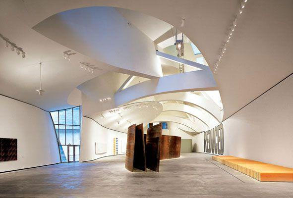 Guggenheim Bilbao Spain Frank Gehry Cor Ten Steel Richard Serra Architecture Pinterest