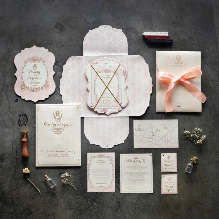 827 best wedding invitations images on pinterest wedding wedding invitation with pastel color ideas hendry christine by yoes card http stopboris Images