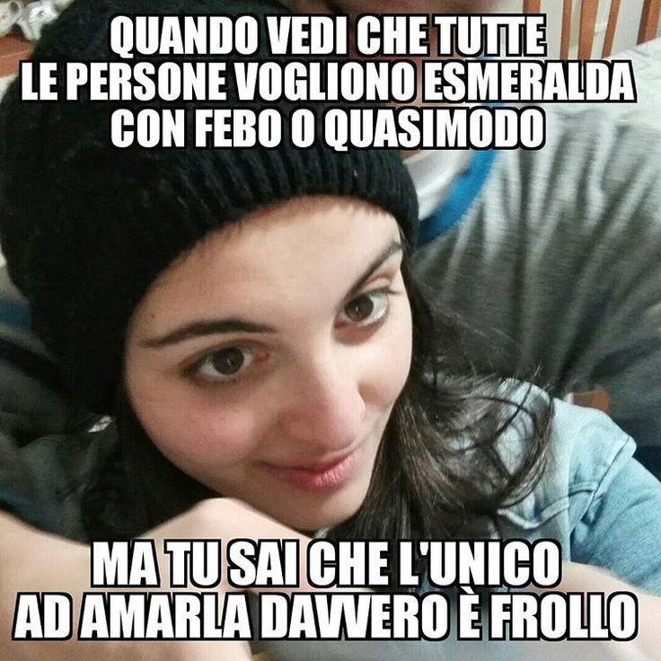 Ve ame   #notredamedeparis #frollorules #febochi #quasimodospostate #meme #ndpitalia #quasimodo #frollo #febo #esmeralda