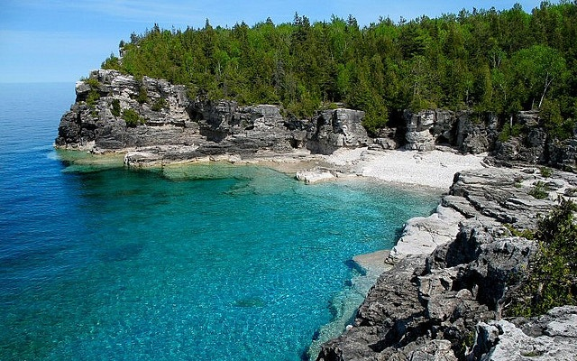Indian Head Cove, Tobermory