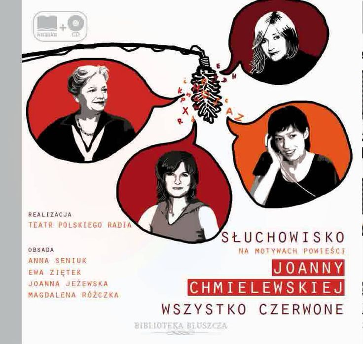 Wszystko czerwone - Joanna Chmielewska AUDIOBOOK