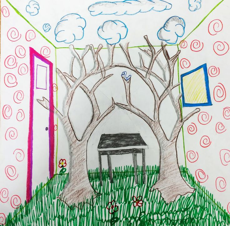 Surrealistic+room+based+on+Maxs+room+from+Where+the+Wild+Things+are+designed+by+a+6th+grader.JPG (1600×1569)