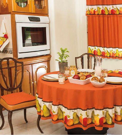 Como hacer manteles navide os buscar con google for Decoracion de cortinas para cocina