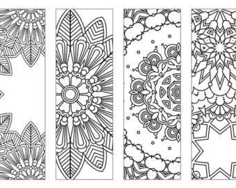 image result for free printable bookmarks to color for adults color mandalas bookmarks coloring pages free printable bookmarks