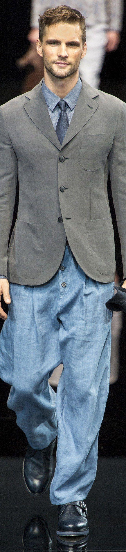 Giorgio Armani - SPRING 2017 MENSWEAR