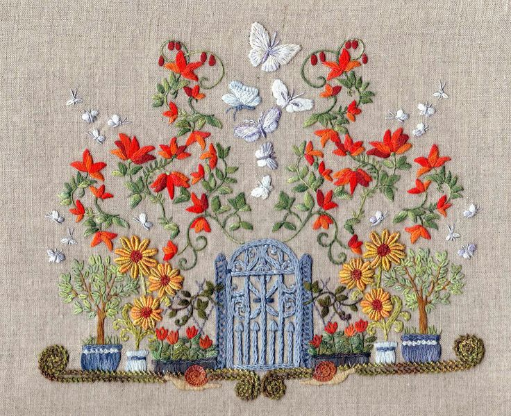 Ideas about french knot embroidery on pinterest