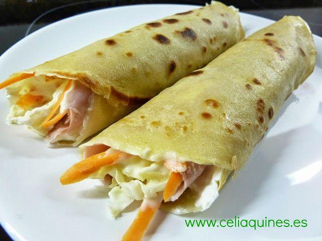 """CELIAQUINES - Recetas de una mami """"gluten free"""": CREPES DE QUINOA"""