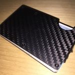 Carbon fiber-plated, RFID-blocking wallet. Ditch the bulky wallet. Free Worldwide.