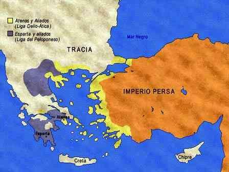 Ligas de Atenas y Esparta