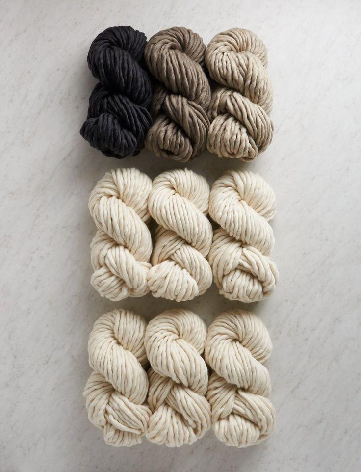 Purl Soho | Gentle Giant Blanket Bundle | Barn Owl