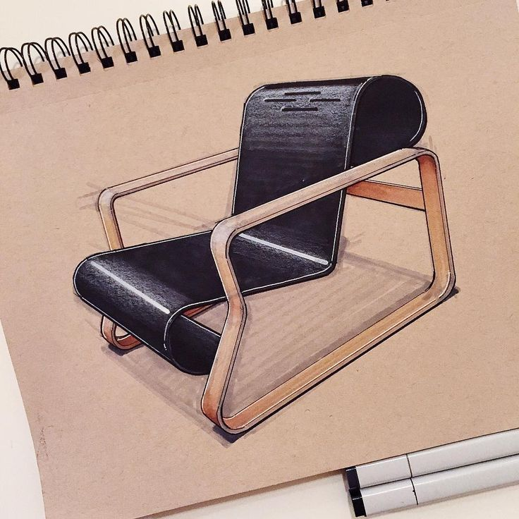 """Alvar Aalto's 1932 Paimio chair produced by Artek. #alvaraalto #paimio #artek…"