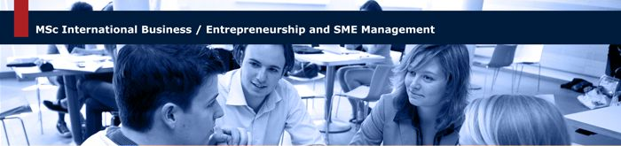 Entrepreneurship and SME Management - Maastricht University