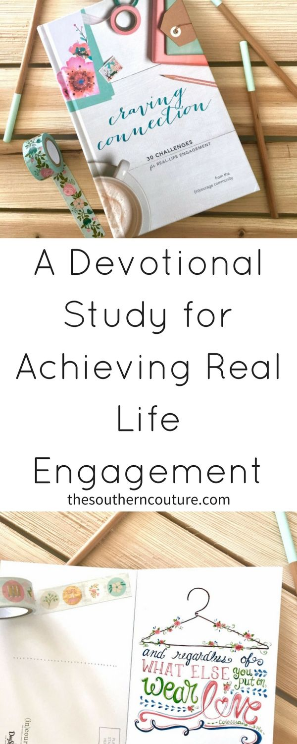 If you want a fresh start, then try starting out with the Craving Connection Daily Devotion and learn How to Achieve Real Life Engagement in Your Life.