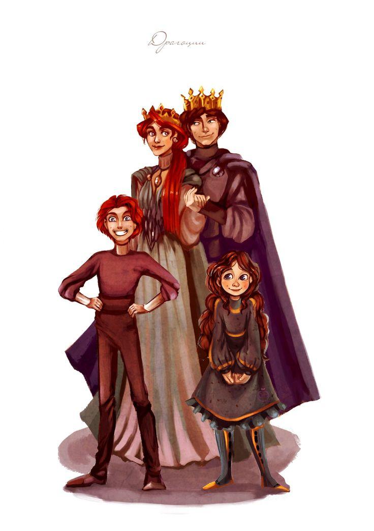 Сім'я Драгоціїв